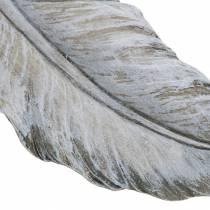 Piuma di gioielli grave 18 cm x 6,5 cm 4 pezzi