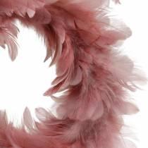 Decorazione di Pasqua ghirlanda primaverile rosa antica Ø25cm decorazione primaverile