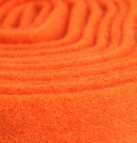 Nastro in feltro arancione 7,5 cm 5 m