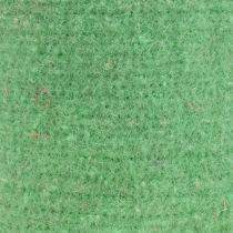 Nastro adesivo in feltro verde chiaro 15 cm 5 m