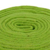 Nastro in feltro 7,5 cm x 5 m verde