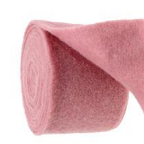 Nastro in feltro, nastro adesivo rosa antico 15 cm 5 m