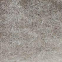 Nastro in feltro, nastro adesivo grigio-naturale 15cm 5m
