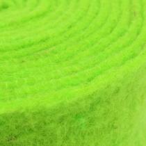 Nastro in feltro verde 7,5 cm 5 m