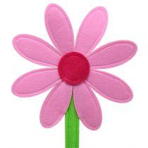 Fiore di feltro rosa 87 cm