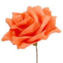 Schiuma Rose Orange Ø15cm 4 pezzi