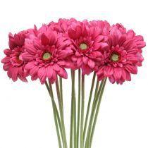 Gerbera Pink 48 cm 12 pezzi