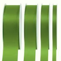 Nastro regalo e decorazione verde 50m