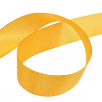 Nastro regalo nastro decorativo nastro di seta arancione 40mm 50m