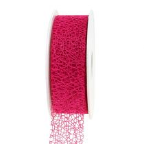 Nastro regalo in rosa 3 cm, 10 m