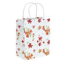 Sacchetti regalo con fiori 25 cm x 20 cm x 11 cm 6 pezzi