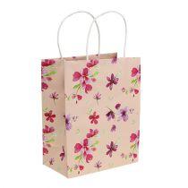Sacchetti regalo con fiori 20 cm x 11 cm x 25 cm 6 pezzi