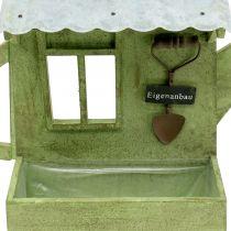 Fioriera Giardino Capannone Verde H40cm