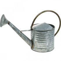 Annaffiatoio in metallo aspetto antico 52 × 20 × 33 cm