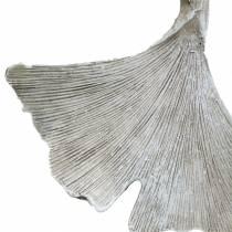 Foglia di ginkgo decorazione grave per appendere 10 cm 3 pezzi