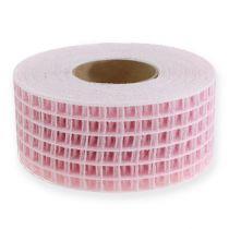 Nastro a griglia 4,5 cm x 10 m rosa