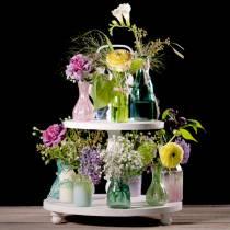 Vaso di vetro Farmer's Silver Pink H11cm 6 pezzi