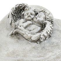 Gravi gioielli cuori con angeli 9cm 3 pezzi