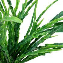 Cespuglio di erba verde 48cm 3 pezzi