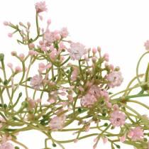 Ghirlanda di gypsophila Rosa 180 cm