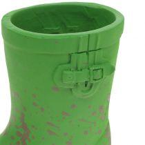 Stivali in gomma mini pianta da vaso 10,5 cm 6 pezzi