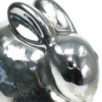 Coniglio argento antico H14,5cm