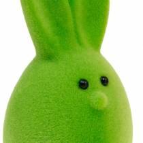 Mix di uova di Pasqua con orecchie, uova di coniglio floccate, decorazioni colorate di Pasqua 6pz