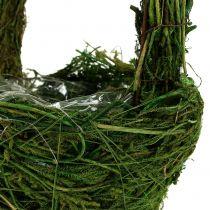 Manico Basket Muschio Ø18cm H27cm Verde