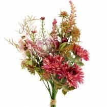 Bouquet di fucsia autunnale 40 cm