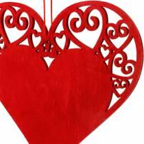 Cuore da appendere, decorazione matrimonio, ciondoli cuore, decorazione cuore, San Valentino 12 pezzi