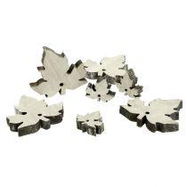 Foglie di acero in legno bianco 30 pezzi