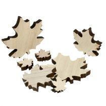 Foglie di legno, foglie di acero Mix 2,5 cm - 7 cm 36 pezzi