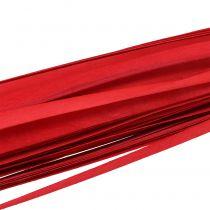Nastro intrecciato con striscia di legno rosso 95 cm - 100 cm 50 pezzi