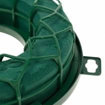 OASIS® IDEAL anello universale corona floreale in schiuma verde H4cm Ø18,5cm 5 pezzi