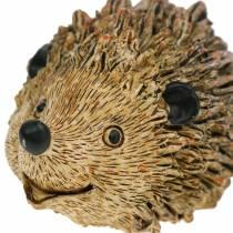 Figura decorativa riccio natura 6,5cm