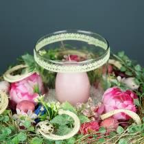 Bouquet con Bellis Rosa 23 cm
