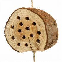 Insetto hotel legno H65cm nido d'ape da appendere