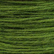Cavo di iuta Verde Ø2mm 100g