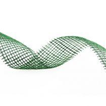 Nastro di iuta verde scuro 5 cm 40 m
