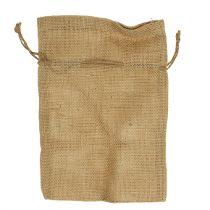 Sacchetti di iuta naturale 16 cm x 24 cm 10 pezzi