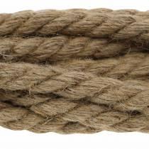 Pratica corda di iuta Ø1,5 m 6 m