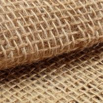 Tessuto di iuta naturale 140 cm 10 m
