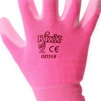 Guanti da giardinaggio Kixx taglia 8 rosa, rosa