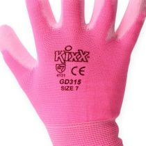 Guanti da giardinaggio Kixx taglia 7 rosa, rosa
