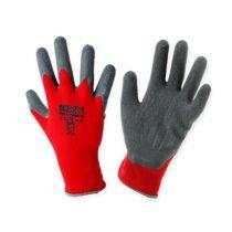 Guanti da giardinaggio Kixx in nylon taglia 8 rosso, grigio