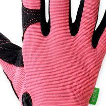 Guanti sintetici Kixx taglia 7 rosa, nero
