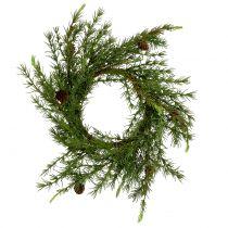 Corona, corona da tavolo Larice verde Ø50cm
