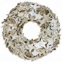 Decoro ghirlanda stelle corteccia di betulla decorazione tavola Avvento betulla Ø25cm
