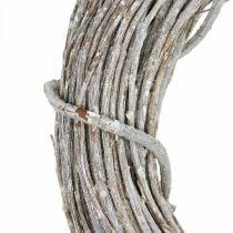 Ghirlanda decorativa ghirlanda porta ghirlanda naturale sbiancata Shabby Chic Ø42cm