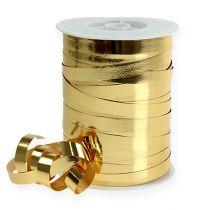 Nastro arricciacapelli lucido 10mm 250m oro